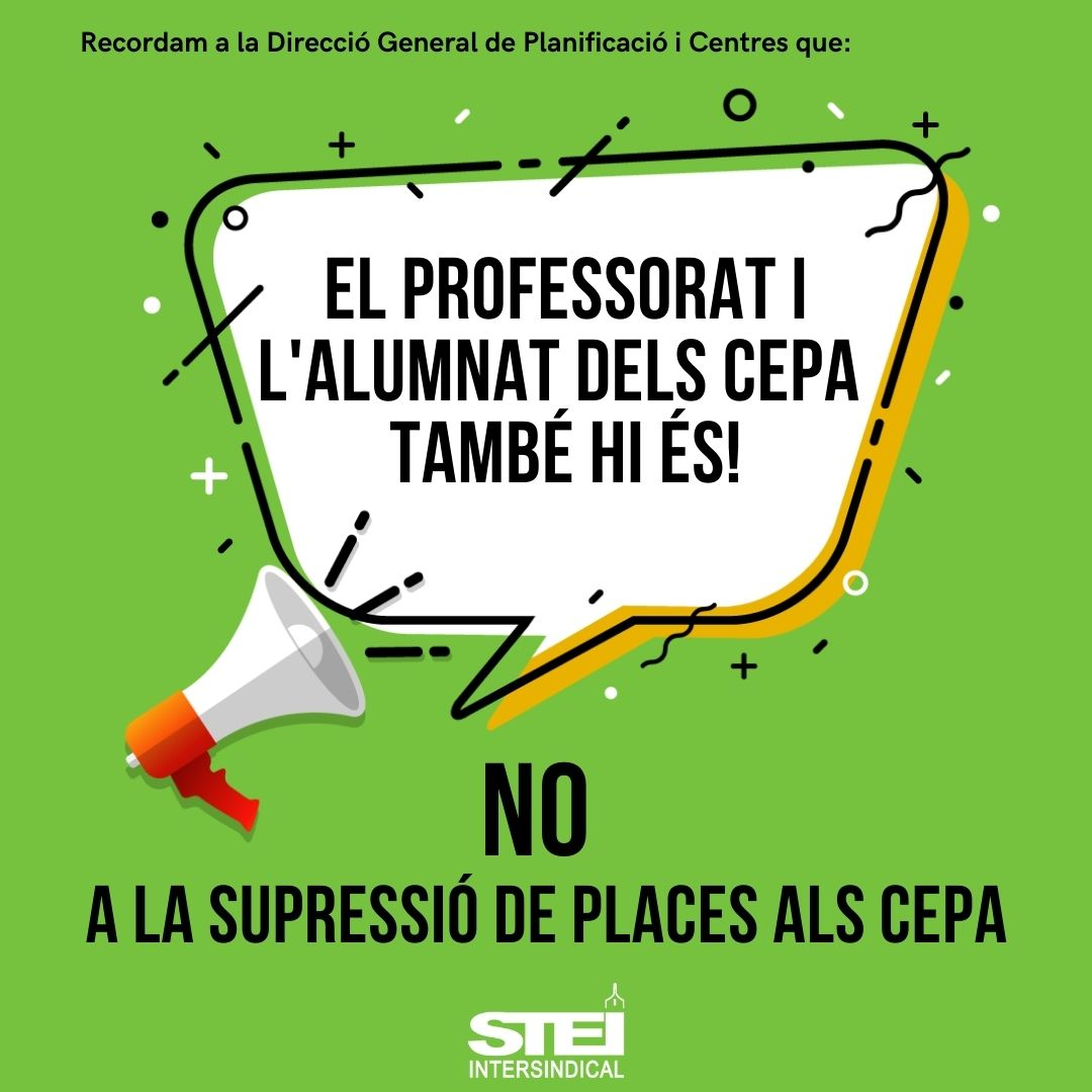 CEPA supressió places