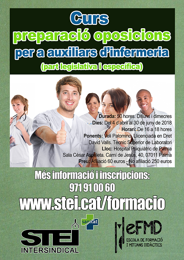 Cartell curs opos imfermeria nou web